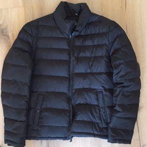 Men's Black Kenneth Cole Puffer Jacket